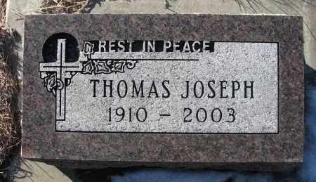 MALLOY, THOMAS JOSEPH - Holt County, Nebraska   THOMAS JOSEPH MALLOY - Nebraska Gravestone Photos