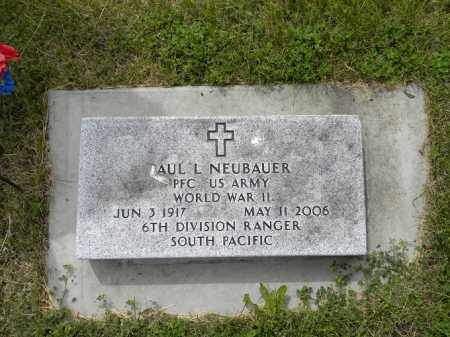 NEUBAUER, PAUL LUCILLEOUS - Holt County, Nebraska   PAUL LUCILLEOUS NEUBAUER - Nebraska Gravestone Photos