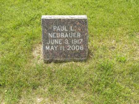 NEUBAUER, PAUL LUCILLEOUS - Holt County, Nebraska | PAUL LUCILLEOUS NEUBAUER - Nebraska Gravestone Photos