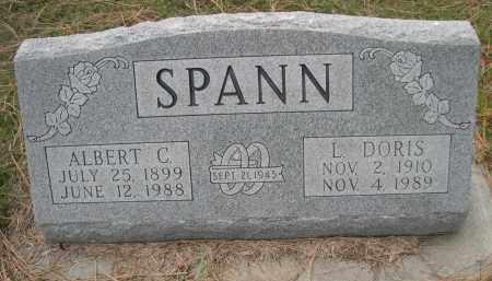 SPANN, ALBERT C. - Holt County, Nebraska | ALBERT C. SPANN - Nebraska Gravestone Photos