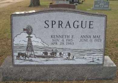 SPRAGUE, KENNETH E. - Holt County, Nebraska | KENNETH E. SPRAGUE - Nebraska Gravestone Photos