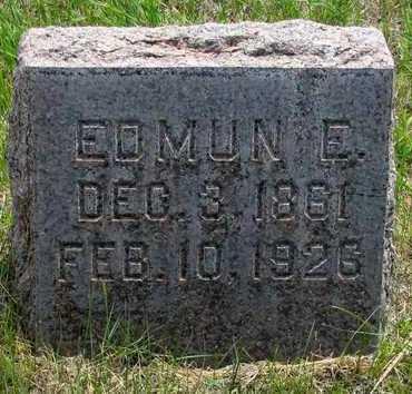 CATRON, EDMUN E - Hooker County, Nebraska | EDMUN E CATRON - Nebraska Gravestone Photos