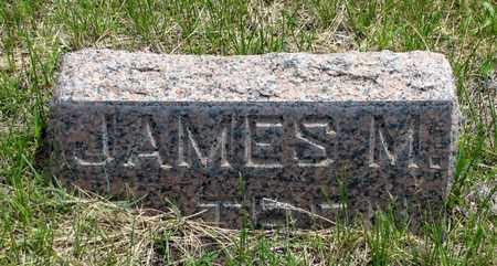 CATRON, JAMES M. - Hooker County, Nebraska | JAMES M. CATRON - Nebraska Gravestone Photos
