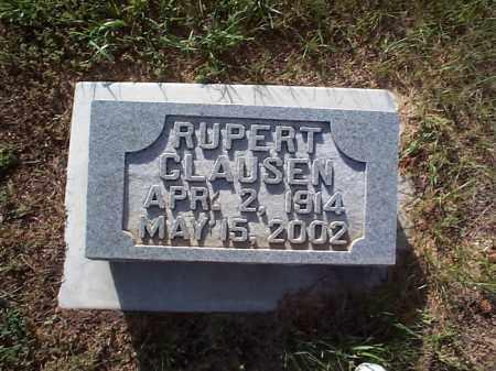 CLAUSEN, RUPERT - Howard County, Nebraska   RUPERT CLAUSEN - Nebraska Gravestone Photos