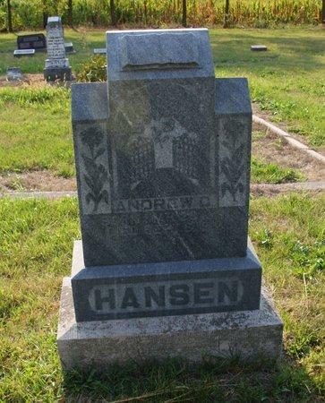 HANSEN, ANDREW C. - Howard County, Nebraska | ANDREW C. HANSEN - Nebraska Gravestone Photos