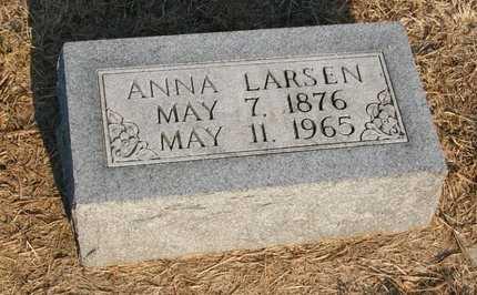 LARSEN, ANNA - Howard County, Nebraska | ANNA LARSEN - Nebraska Gravestone Photos