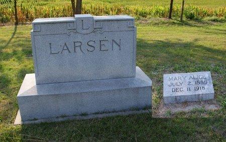 LARSEN, MARY ALICE - Howard County, Nebraska | MARY ALICE LARSEN - Nebraska Gravestone Photos