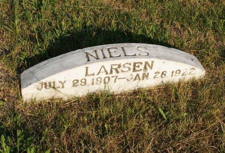 LARSEN, NIELS - Howard County, Nebraska | NIELS LARSEN - Nebraska Gravestone Photos