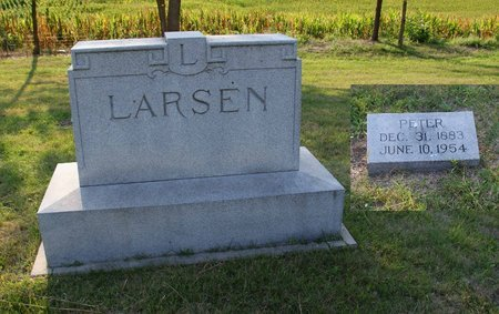 LARSEN, PETER - Howard County, Nebraska | PETER LARSEN - Nebraska Gravestone Photos