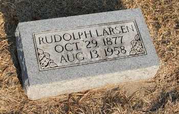 LARSEN, RUDOLPH - Howard County, Nebraska | RUDOLPH LARSEN - Nebraska Gravestone Photos