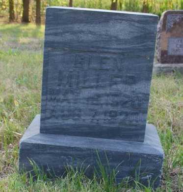 MILLER, GLEN - Howard County, Nebraska | GLEN MILLER - Nebraska Gravestone Photos