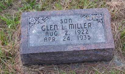 MILLER, GLEN L. - Howard County, Nebraska | GLEN L. MILLER - Nebraska Gravestone Photos