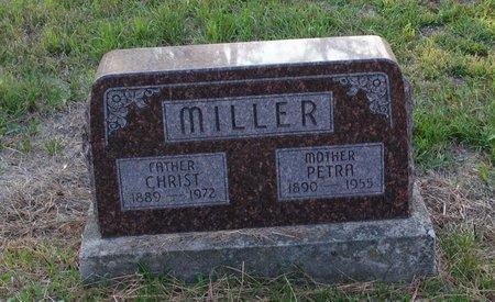MILLER, PETRA - Howard County, Nebraska | PETRA MILLER - Nebraska Gravestone Photos