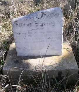 UNKNOWN, BABY - Jefferson County, Nebraska   BABY UNKNOWN - Nebraska Gravestone Photos