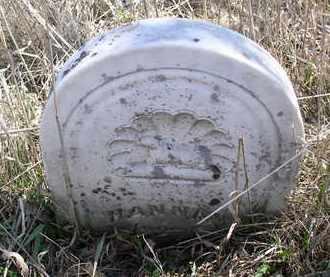 UNKNOWN, HANNAH - Jefferson County, Nebraska | HANNAH UNKNOWN - Nebraska Gravestone Photos