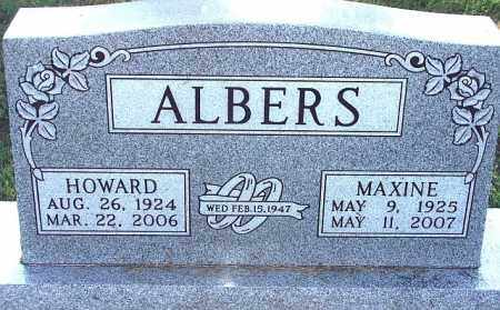 SMITH ALBERS, MAXINE - Kearney County, Nebraska | MAXINE SMITH ALBERS - Nebraska Gravestone Photos