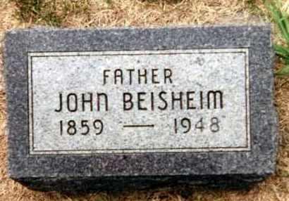 BEISHEIM, JOHN - Kearney County, Nebraska | JOHN BEISHEIM - Nebraska Gravestone Photos