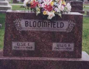 BLOOMFIELD, ELSIE E. - Kearney County, Nebraska | ELSIE E. BLOOMFIELD - Nebraska Gravestone Photos
