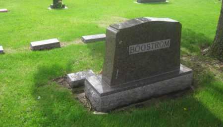BOOSTROM, FAMILY - Kearney County, Nebraska | FAMILY BOOSTROM - Nebraska Gravestone Photos