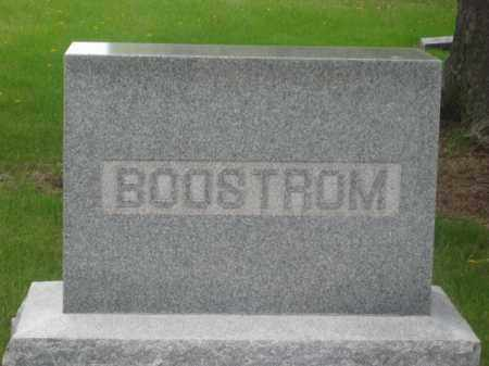 BOOSTROM, FAMILY - Kearney County, Nebraska | FAMILY BOOSTROM - Nebraska Gravestone Photos
