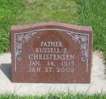 CHRISTENSEN, RUSSELL E. - Kearney County, Nebraska | RUSSELL E. CHRISTENSEN - Nebraska Gravestone Photos