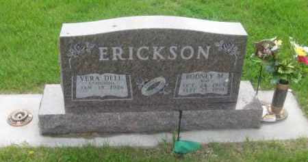 JOHNSON ERICKSON, VERA DELL - Kearney County, Nebraska | VERA DELL JOHNSON ERICKSON - Nebraska Gravestone Photos