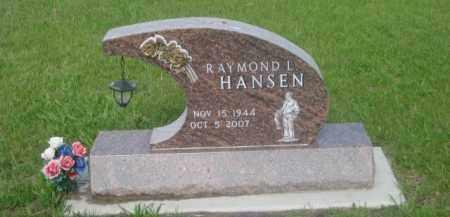 HANSEN, RAYMOND I. - Kearney County, Nebraska   RAYMOND I. HANSEN - Nebraska Gravestone Photos