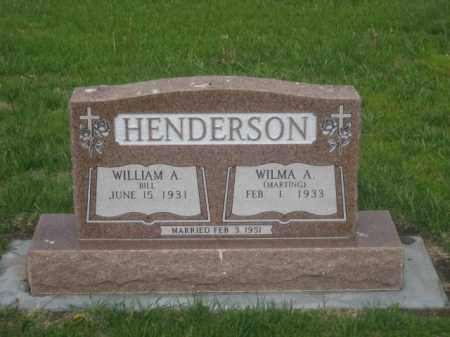 HENDERSON, WILMA A. - Kearney County, Nebraska | WILMA A. HENDERSON - Nebraska Gravestone Photos