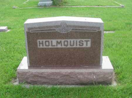 HOLMQUIST, FAMILY - Kearney County, Nebraska | FAMILY HOLMQUIST - Nebraska Gravestone Photos