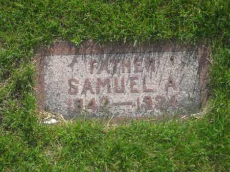 HOLMQUIST, SAMUEL A. - Kearney County, Nebraska | SAMUEL A. HOLMQUIST - Nebraska Gravestone Photos