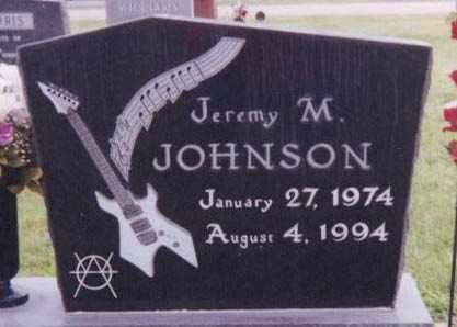 JOHNSON, JEREMY M. - Kearney County, Nebraska   JEREMY M. JOHNSON - Nebraska Gravestone Photos