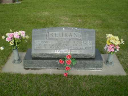 KLUKAS, CONNIE  J - Kearney County, Nebraska | CONNIE  J KLUKAS - Nebraska Gravestone Photos