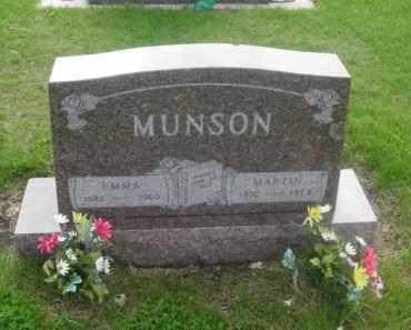 MUNSON, EMMA - Kearney County, Nebraska   EMMA MUNSON - Nebraska Gravestone Photos