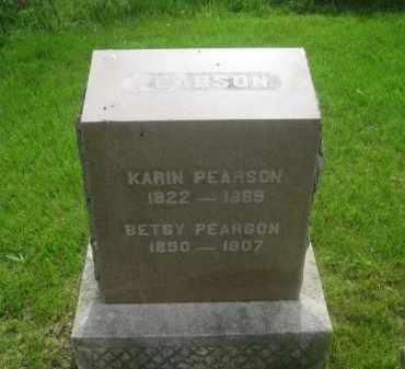 PEARSON, BETSY - Kearney County, Nebraska | BETSY PEARSON - Nebraska Gravestone Photos