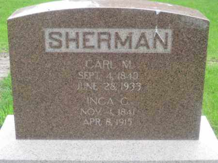 SHERMAN, CARL M. - Kearney County, Nebraska | CARL M. SHERMAN - Nebraska Gravestone Photos