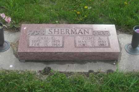 SHERMAN, CARL G. - Kearney County, Nebraska | CARL G. SHERMAN - Nebraska Gravestone Photos