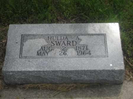 SWARD, HULDA A. - Kearney County, Nebraska | HULDA A. SWARD - Nebraska Gravestone Photos