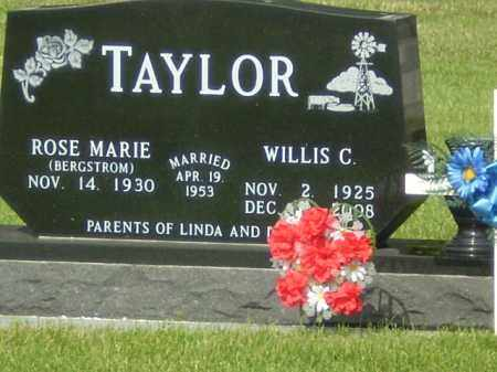 TAYLOR, WILLIS C. - Kearney County, Nebraska | WILLIS C. TAYLOR - Nebraska Gravestone Photos