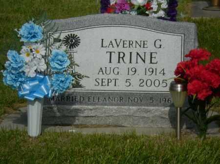 TRINE, LAVERNE - Kearney County, Nebraska | LAVERNE TRINE - Nebraska Gravestone Photos