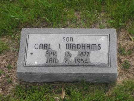 WADHAMS, CARL C. - Kearney County, Nebraska   CARL C. WADHAMS - Nebraska Gravestone Photos