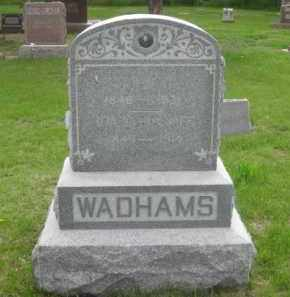WADHAMS, IDA C. - Kearney County, Nebraska | IDA C. WADHAMS - Nebraska Gravestone Photos