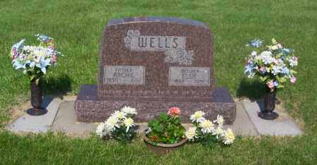 WELLS, ELSIE - Kearney County, Nebraska | ELSIE WELLS - Nebraska Gravestone Photos
