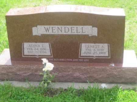 WENDELL, ERNEDT A. - Kearney County, Nebraska | ERNEDT A. WENDELL - Nebraska Gravestone Photos