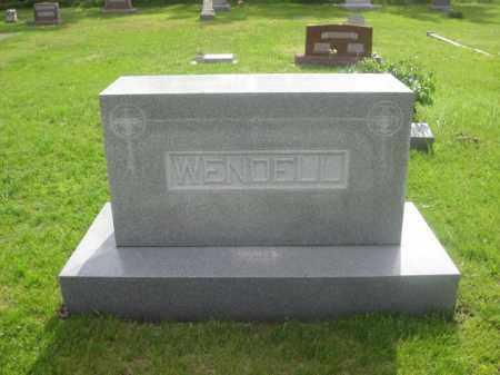 WENDELL, FAMILY - Kearney County, Nebraska | FAMILY WENDELL - Nebraska Gravestone Photos