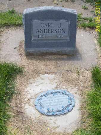 ANDERSON, CARL J. - Keith County, Nebraska   CARL J. ANDERSON - Nebraska Gravestone Photos