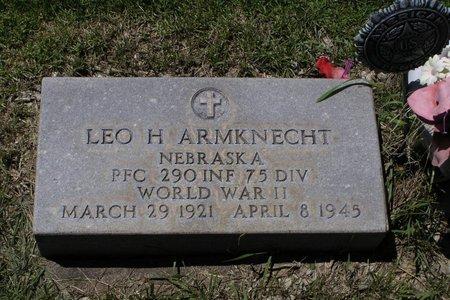 ARMKNECHT, LEO - Keith County, Nebraska | LEO ARMKNECHT - Nebraska Gravestone Photos