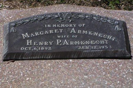 NEEMANN ARMKNECHT, MARGARET - Keith County, Nebraska | MARGARET NEEMANN ARMKNECHT - Nebraska Gravestone Photos