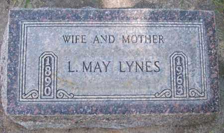 LYNES, L. MAY - Keith County, Nebraska | L. MAY LYNES - Nebraska Gravestone Photos