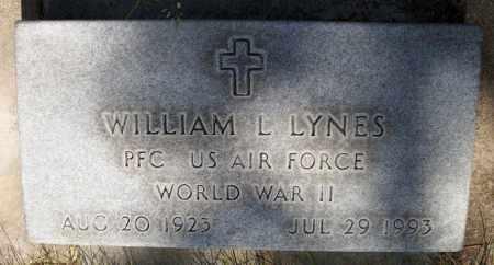 LYNES, WILLIAM L. - Keith County, Nebraska   WILLIAM L. LYNES - Nebraska Gravestone Photos