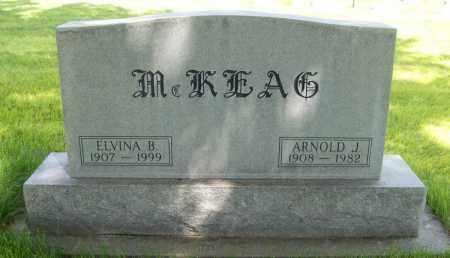 MCKEAG, ARNOLD - Keith County, Nebraska | ARNOLD MCKEAG - Nebraska Gravestone Photos